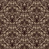 Patterned brown colour