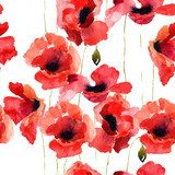 Red poppies suit you(r wall)