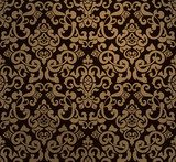 Golden royal patterns