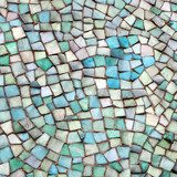 Fragile perfection of mosaic
