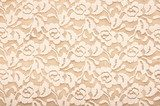 A subtle flower wall lace