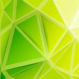 Geometric lime - Abstraction