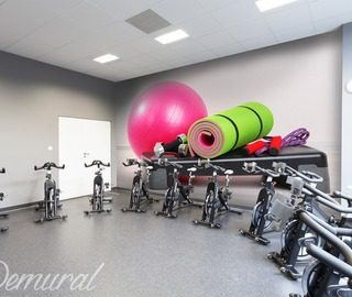 photo decoration and fit motivation fitness club wallpaper mural photo wallpapers demural