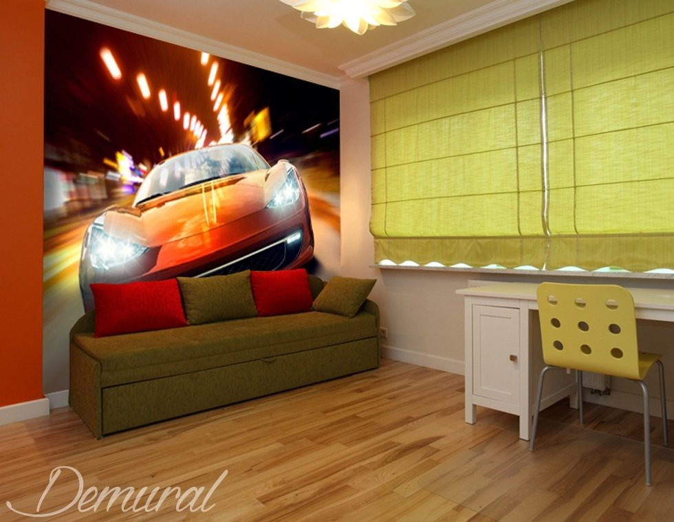 Top Gear Junior Teenager's room wallpaper, mural Photo wallpapers Demural