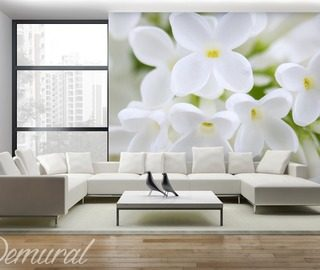 a summer house in a living room living room wallpaper mural photo wallpapers demural