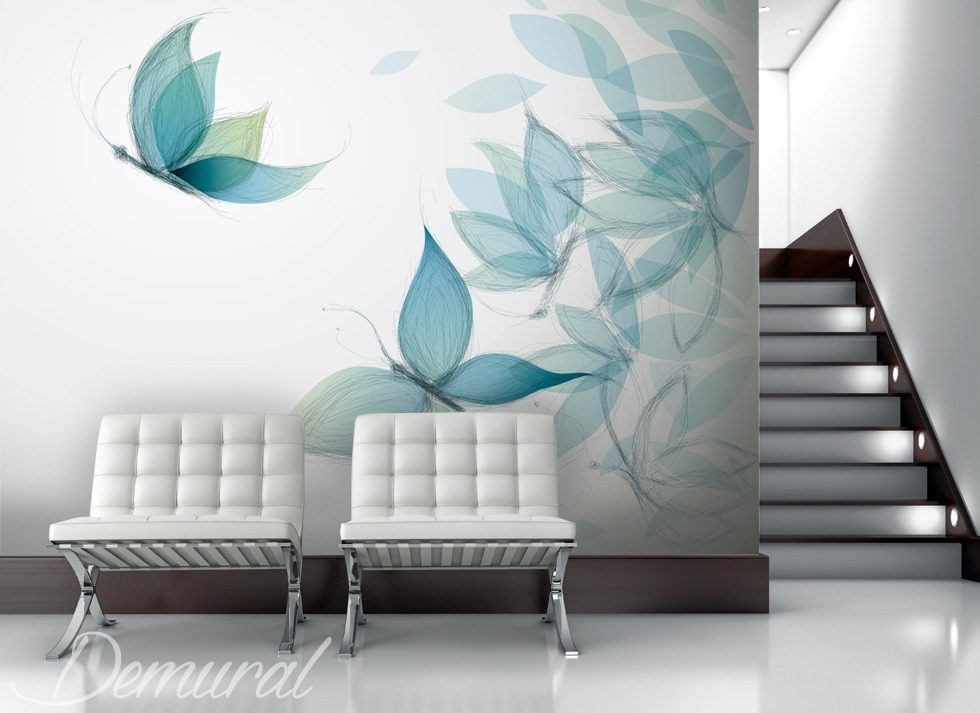 Gaudy as a butterfly Animals wallpaper mural Photo wallpapers Demural