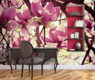 a floral move flowers wallpaper mural photo wallpapers demural