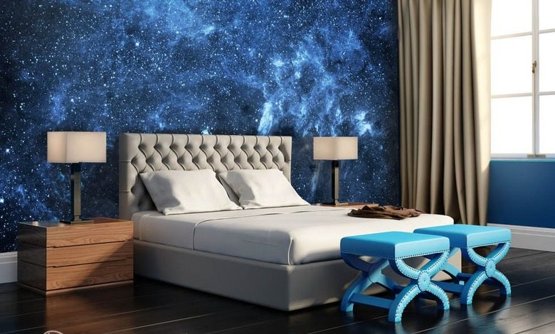 stars in the interior cosmos wallpaper mural photo wallpapers demural