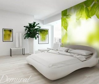 green energy bedroom wallpaper mural photo wallpapers demural