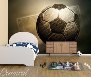 a football trophy boys room wallpaper mural photo wallpapers demural