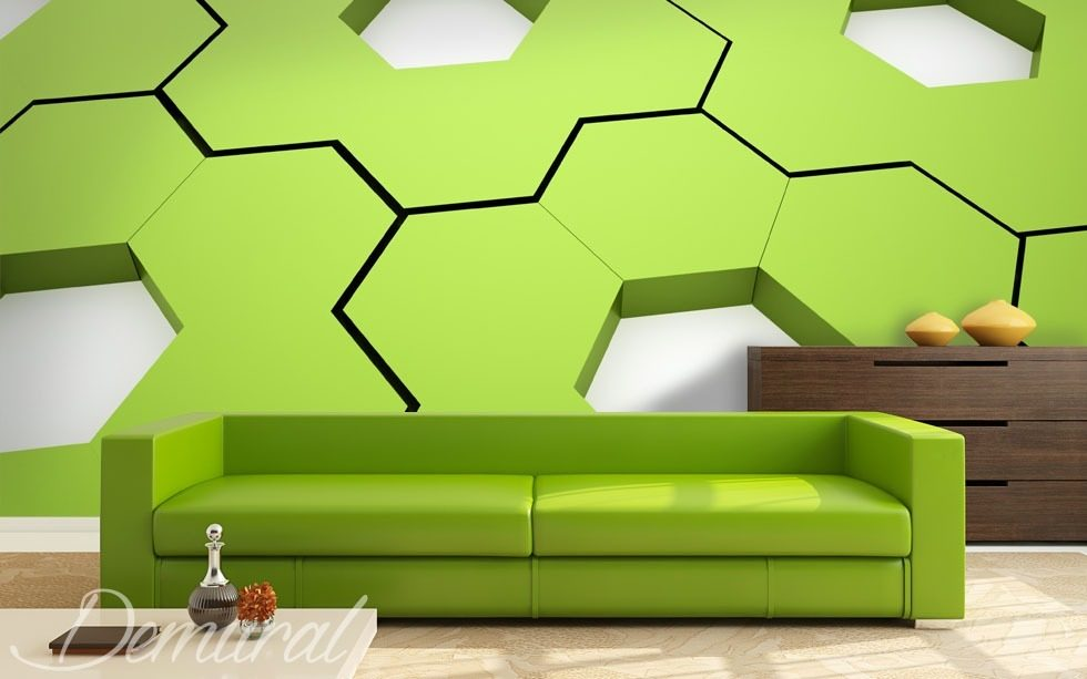 Cogs in a machine Three-dimensional wallpaper, mural Photo wallpapers Demural