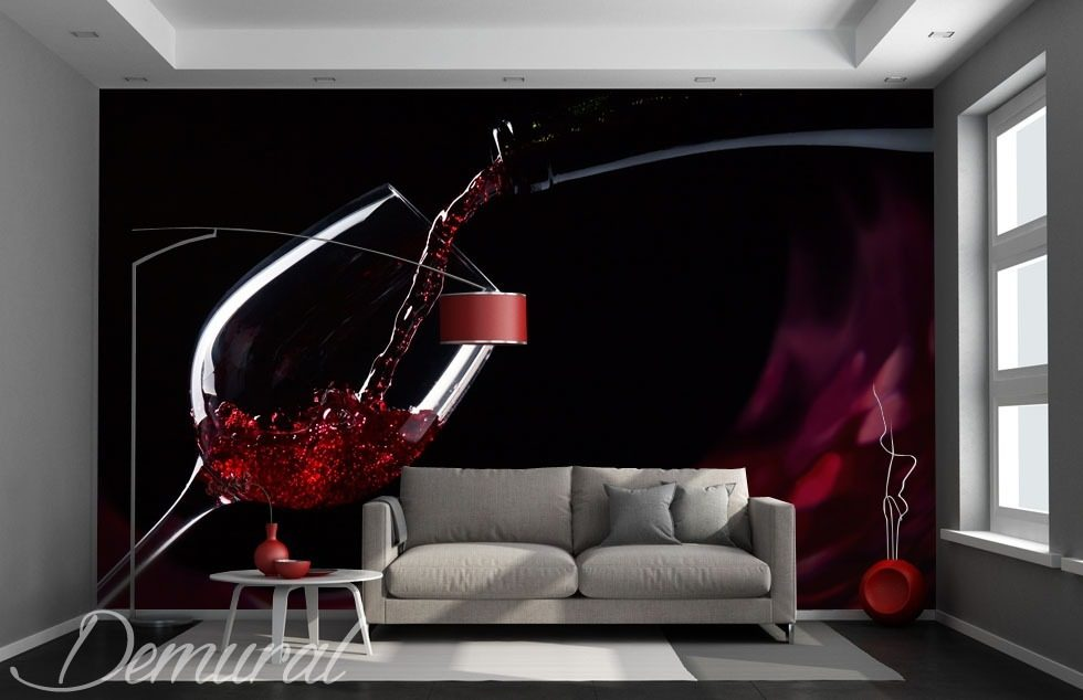 Precious counterpoint Living room wallpaper mural Photo wallpapers Demural