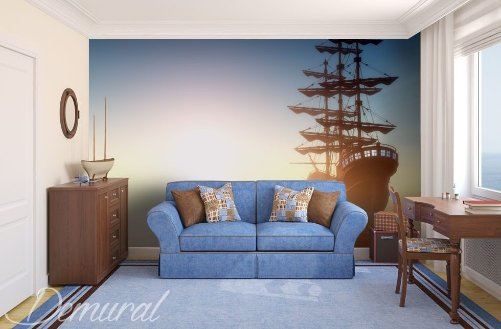 Full speed ahead Wall Murals Photo Wallpapers Vehicles Photo wallpapers Demural