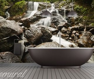 noise of nature bathroom wallpaper mural photo wallpapers demural
