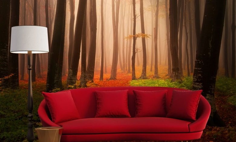 autumn meditations landscapes wallpaper mural photo wallpapers demural