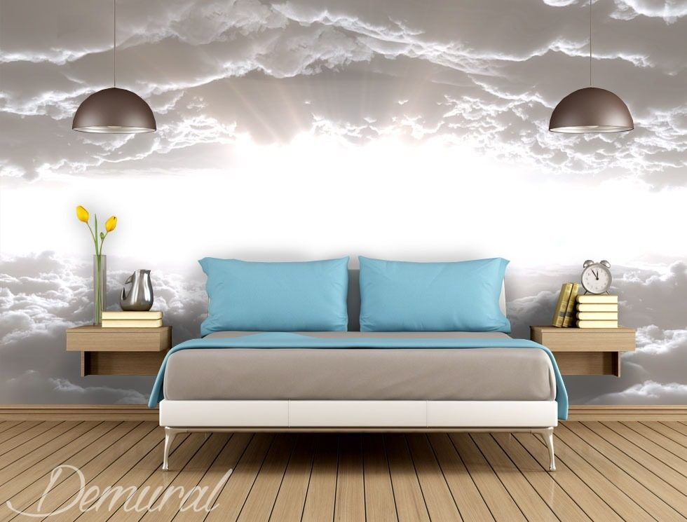 Three steps to heaven Sky wallpaper mural Photo wallpapers Demural