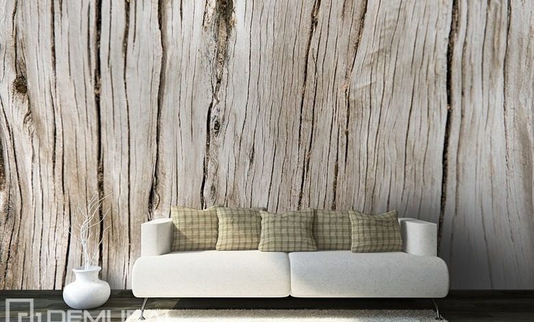 cracked plank patterns wallpaper mural photo wallpapers demural