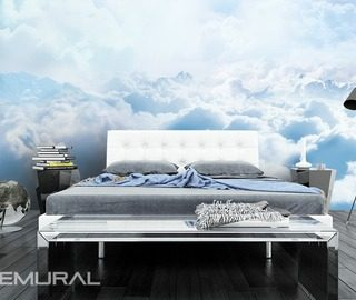 sky high quilt bedroom wallpaper mural photo wallpapers demural