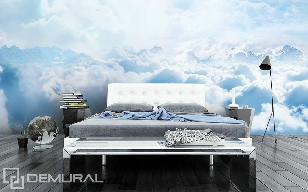 Sky-high quilt Bedroom wallpaper mural Photo wallpapers Demural