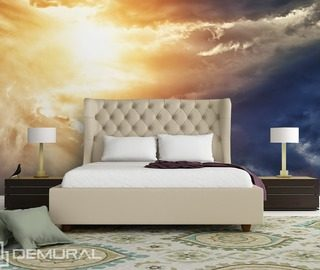 craziness at the sky bedroom wallpaper mural photo wallpapers demural