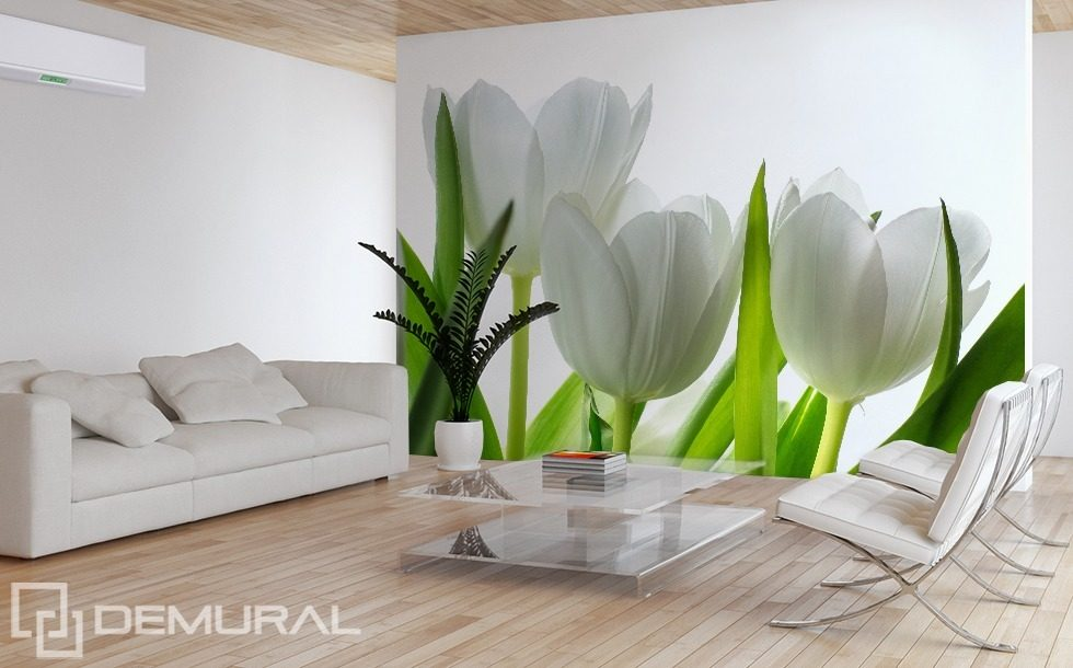 Spring Freshness Flowers wallpaper mural Photo wallpapers Demural