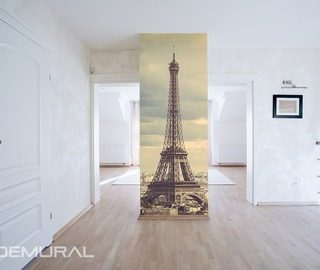 a tour around paris eiffel tower wallpaper mural photo wallpapers demural