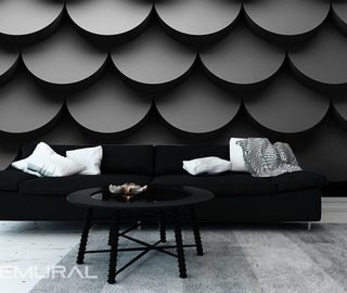 shadows of tiles black and white wallpaper mural photo wallpapers demural