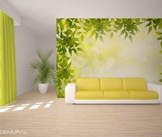 sip of green tea patterns wallpaper mural photo wallpapers demural