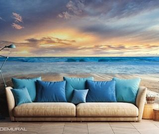 with legs in the cold ocean landscapes wallpaper mural photo wallpapers demural