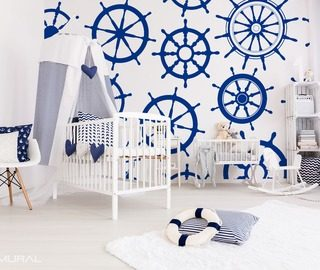 with a naval greeting nautical style wallpaper mural photo wallpapers demural