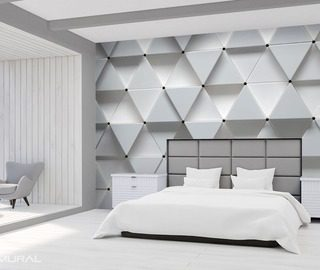 the whiteness of the geometric modernity three dimensional wallpaper mural photo wallpapers demural