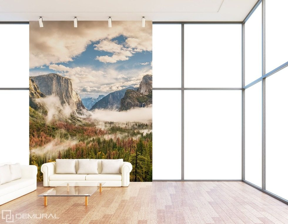 The climatic mountain space Photo wallpapers Mountains Photo wallpapers Demural