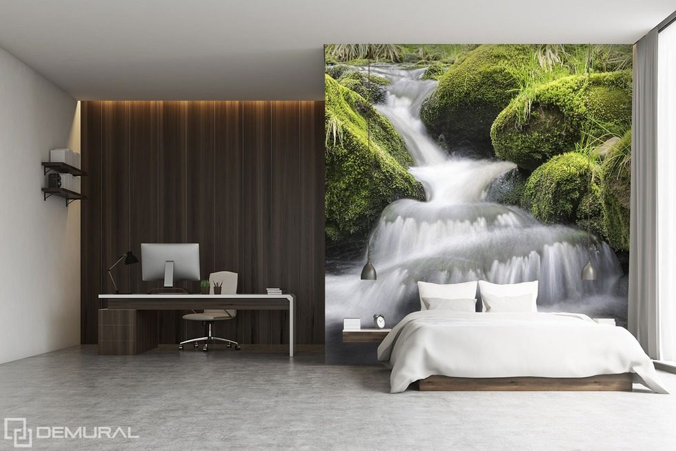 Falling off the cliff - The high waters Bedroom wallpaper mural Photo wallpapers Demural