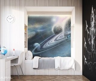 in the intergalactic world boys room wallpaper mural photo wallpapers demural