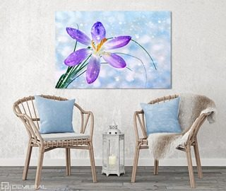 the spring waking up inside of me canvas prints flowers canvas prints demural