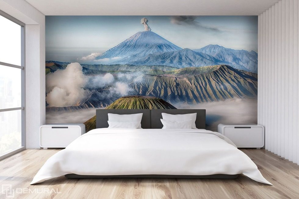 Mountain afterimages - The magic of the world Oriental wallpaper mural Photo wallpapers Demural