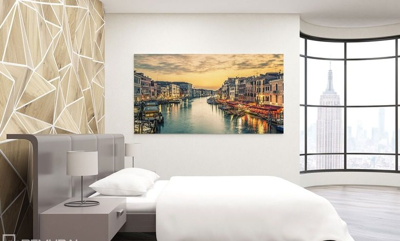 the dreams of flowing water canvas prints in bedroom canvas prints demural
