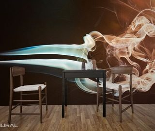 arrangement in the smoke abstraction wallpaper mural photo wallpapers demural