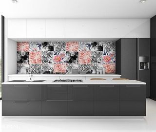stylish impression kitchen wallpaper mural photo wallpapers demural