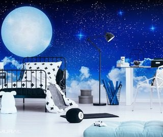 sleep well sweetheart cosmos wallpaper mural photo wallpapers demural