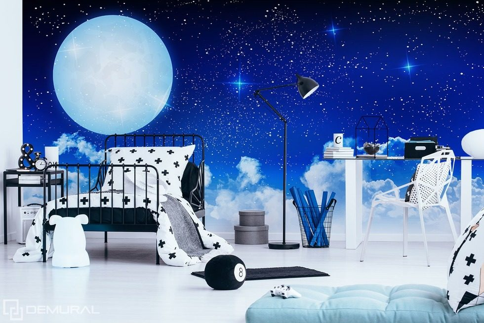 Sleep well, sweetheart Cosmos wallpaper mural Photo wallpapers Demural