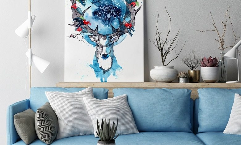 scandinavian beauty canvas prints animals canvas prints demural