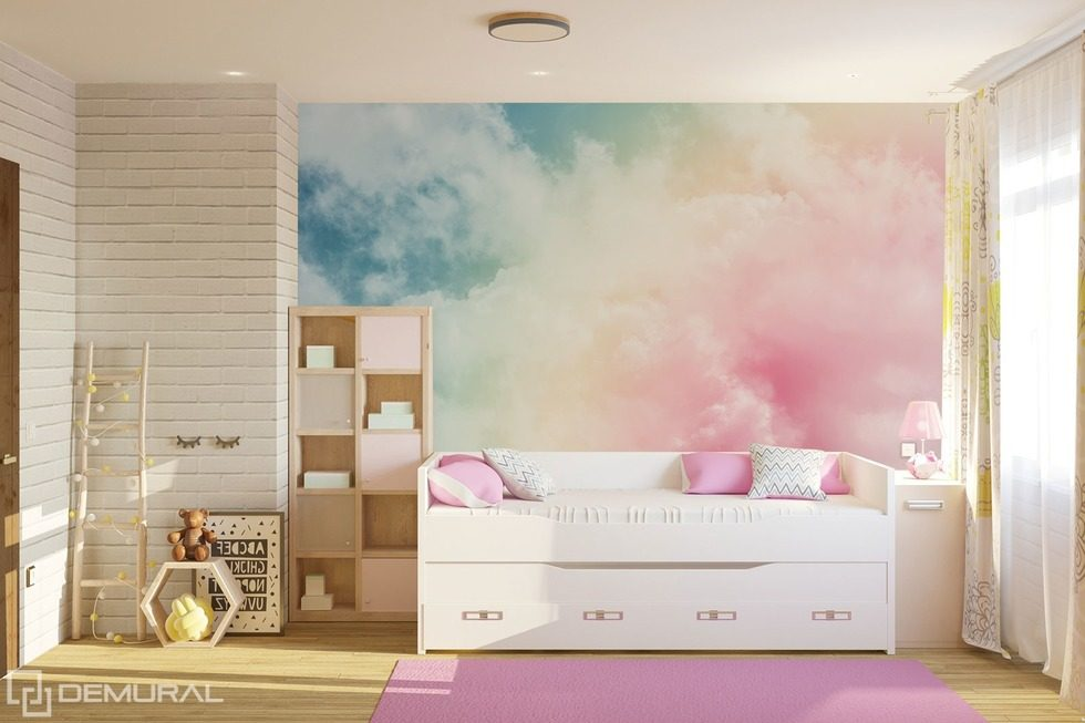Subtleties painted by the wind Child's room wallpaper mural Photo wallpapers Demural