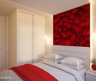 floristic considerations bedroom wallpaper mural photo wallpapers demural