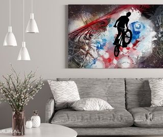colorful craziness canvas prints people canvas prints demural