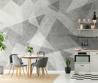 the lightness of silver patterns wallpaper mural photo wallpapers demural