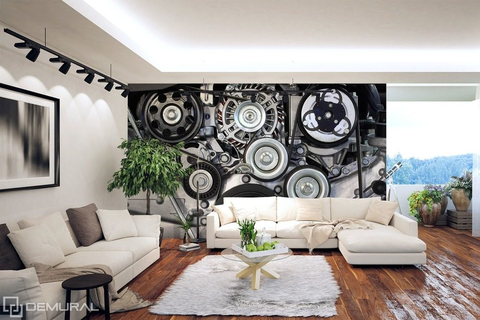 In a time machine Wall Murals Photo Wallpapers Vehicles Photo wallpapers Demural