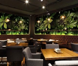 discreet charm of the exotic cafe wallpaper mural photo wallpapers demural