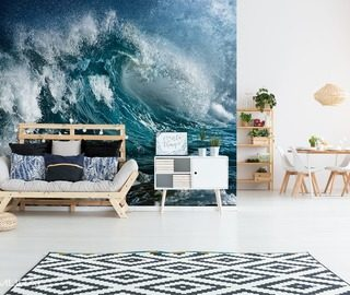 revival of nature nautical style wallpaper mural photo wallpapers demural