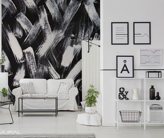 combination of black and white black and white wallpaper mural photo wallpapers demural